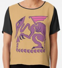 Metroid Hunter Series: Ridley Chiffon Top