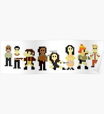 Firefly pixels Poster