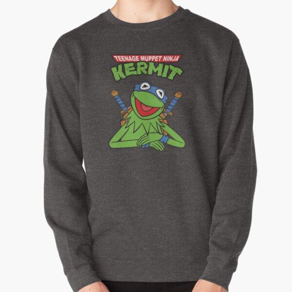 Teenage Muppet Ninja Kermit Pullover Sweatshirt