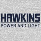 Hawkins Power and Light by Crocktees