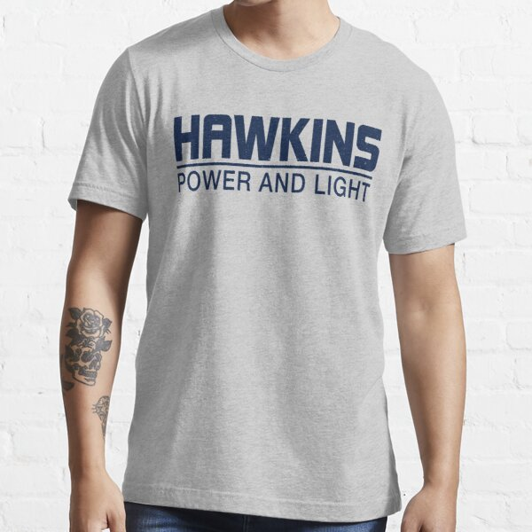 Hawkins Power and Light Essential T-Shirt