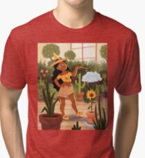 Bumble Bee Witch Tri-blend T-Shirt