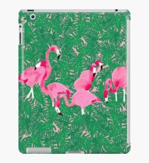 Flamingos on delicious monsters iPad Case/Skin
