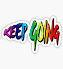 KEEP GOING Sticker