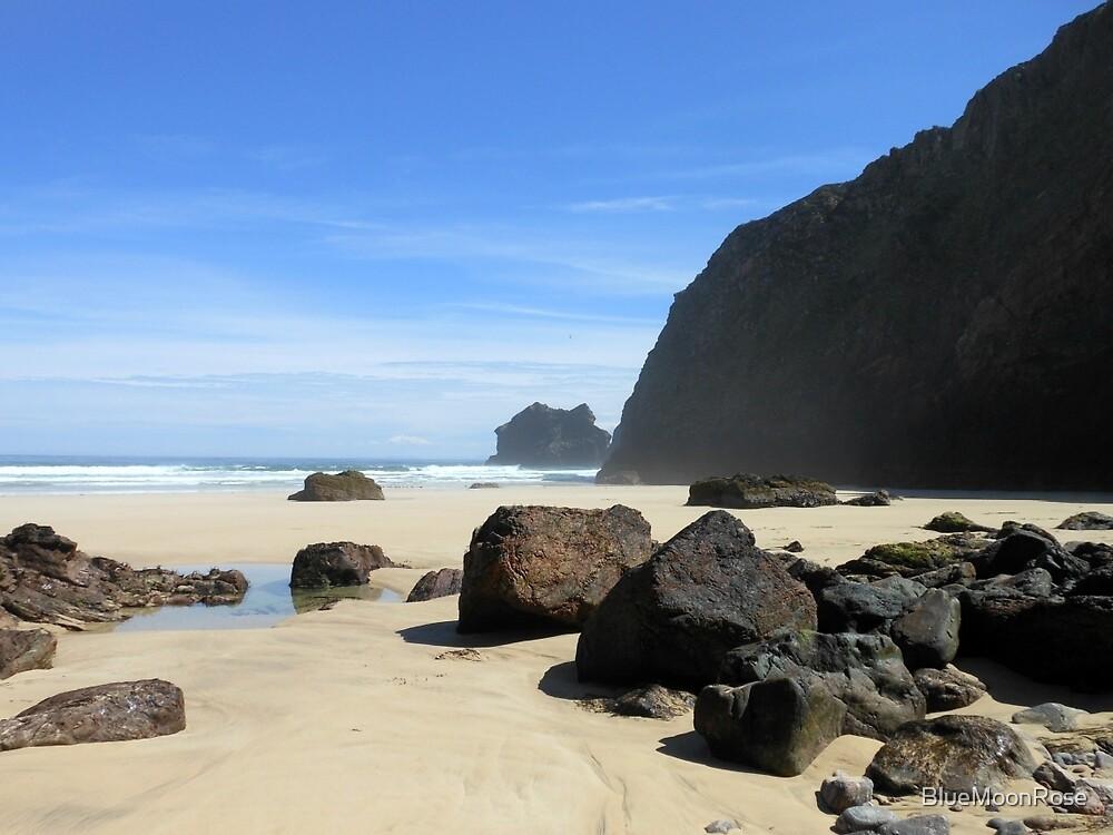 Rocks On Tolsta Beach von BlueMoonRose