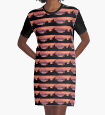 Behind The Trees Graphic T-Shirt Dress