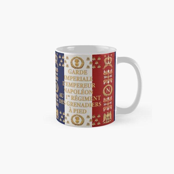 """Napoleonic French """"1er Garde Imperiale"""" flag Classic Mug"""