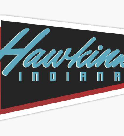 Hawkins, IN (Stranger Things) Sticker