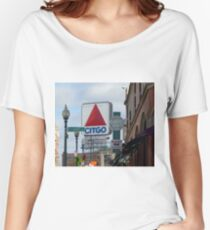 Citgo Sign At Fenway Park Women's Relaxed Fit T-Shirt