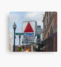 Citgo Sign At Fenway Park Metal Print