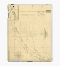 Vintage Map of The Florida Keys (1861) iPad Case/Skin