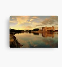 Carew Castle and Bridge Canvas Print