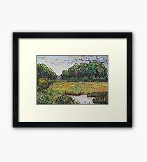 Hammonasset Marsh No.1 Framed Print