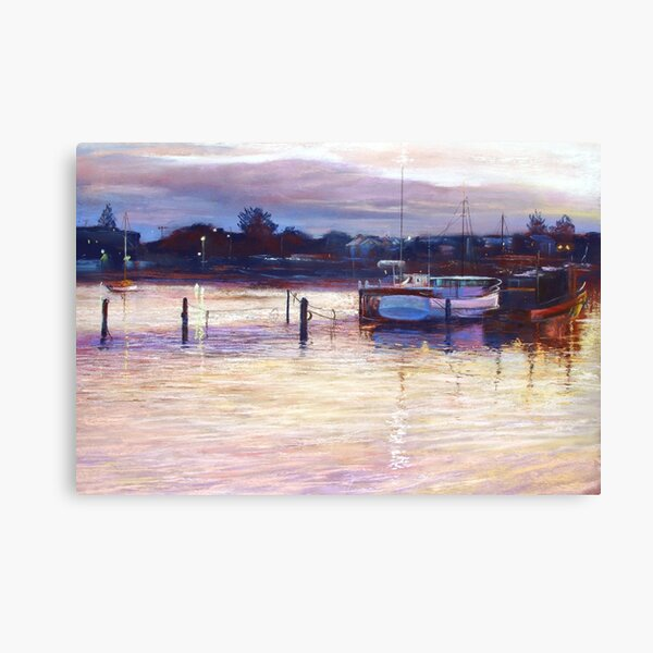 'Harbour Lights - Apollo Bay' Canvas Print