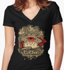 The Mighty ToThoro Women's Fitted V-Neck T-Shirt