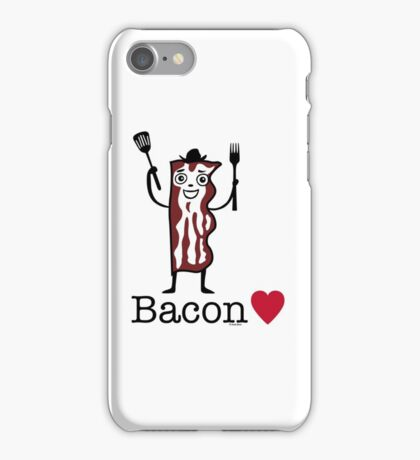 I love bacon iPhone Case/Skin