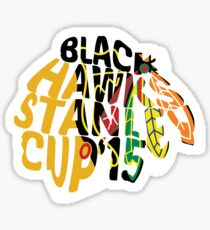 Chicago Blackhawks Stanley Cup 2015 Sticker