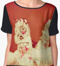 Zombie Doll Attack-2 Chiffon Top