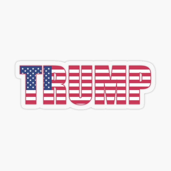 Trump Transparent Sticker