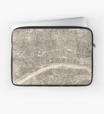 Vintage Map of Frankfurt Germany (1864) Laptop Sleeve