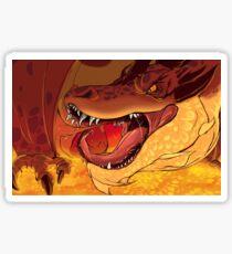 Greed's Roar Sticker