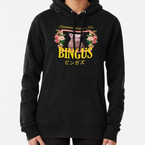 Bingus Floral Aesthetic Pullover Hoodie