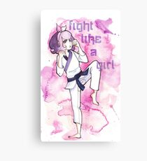 Women in Martial Arts  Canvas Print