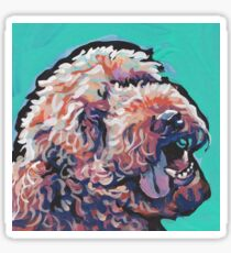 Poodle Labradoodle Golden Doodle Dog Bright colorful pop dog art Sticker