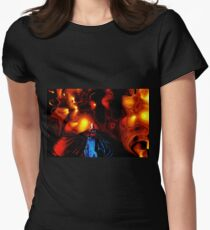 Drama Womens Fitted T-Shirt