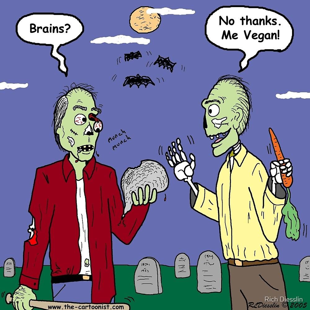 Zombie Vegan by Rich Diesslin