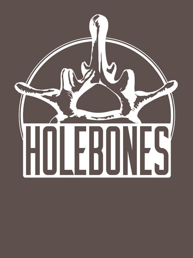 Logo in white by Holebones-off