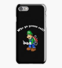 Boo-busters! iPhone Case/Skin