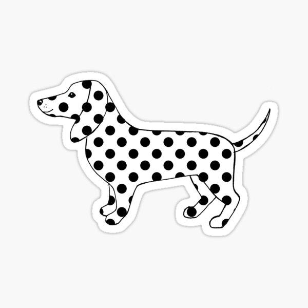 Dotty Dog Sticker
