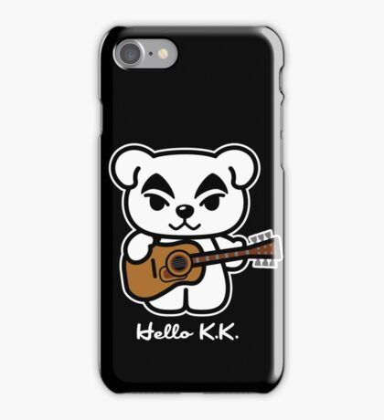 Hello K.K. iPhone Case/Skin