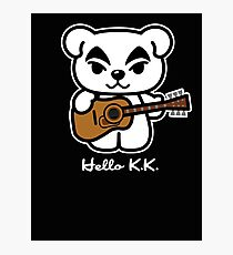 Hello K.K. Photographic Print
