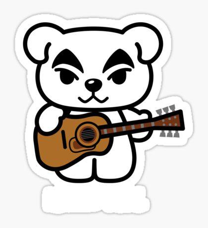 Hello K.K. Sticker