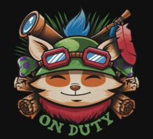 Teemo On Duty | Unisex T-Shirt
