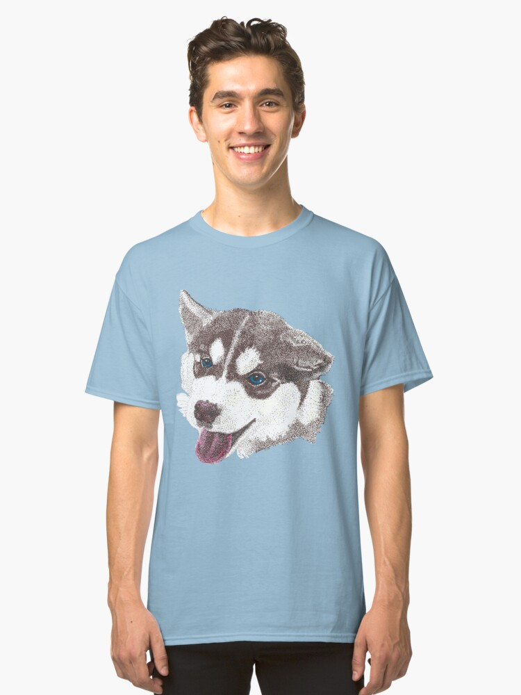 Husky Classic T-Shirt Front