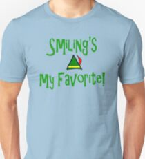 Elf Quote - Smiling's My Favorite! T-Shirt
