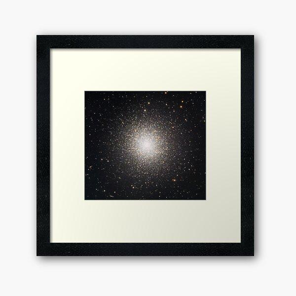 M13 Hercules Globulal Cluster Framed Art Print