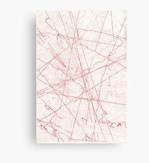 EXTERMINATE Red Canvas Print