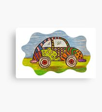 VW Punch Buggy Vroom Vroom Canvas Print