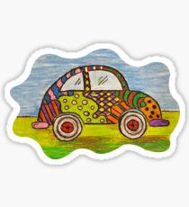 VW Punch Buggy Vroom Vroom Sticker