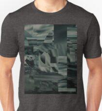 Geometric Glitch Beach Unisex T-Shirt
