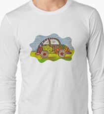 VW Punch Buggy Vroom Vroom Long Sleeve T-Shirt
