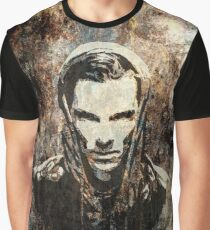 Benedict Cumberbatch - Khan (grunge) Graphic T-Shirt