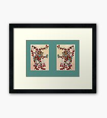 Jaguar Knight Diptych Framed Print