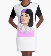 Melanie  Graphic T-Shirt Dress