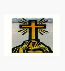God bless you  Art Print