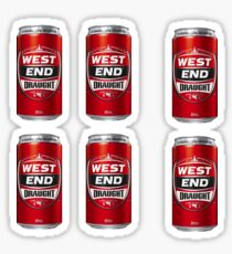 Red Tins Sticker